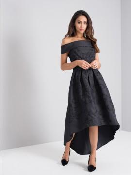 LOUISE DRESS In Black 8-16 UK