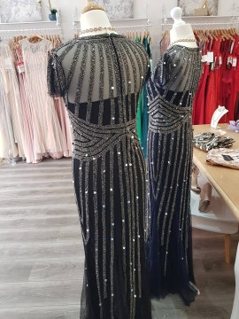 Shine EMBELLISHED Maxi in Navy