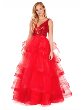 Paris Ball Gown Red