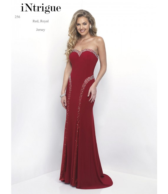 Style 256 Long Dress Red - 1