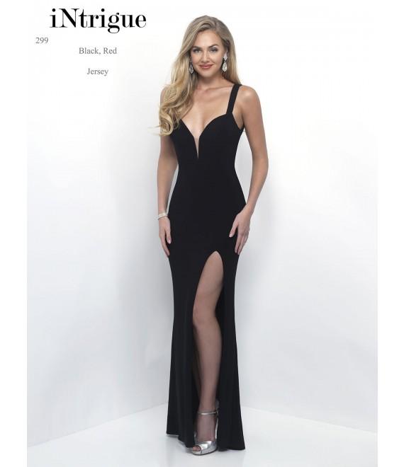 Style 299 Long Dress Black