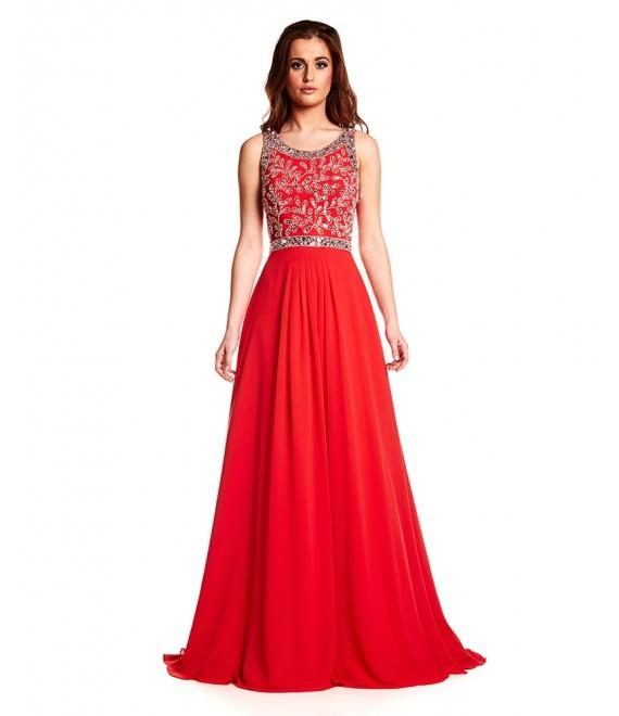 Poppy Dress In Red