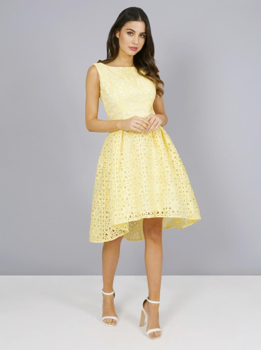 yellow wedding dress guest off 20   medpharmres.com