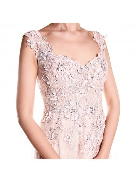 Marcella Dress In Vintage Rose